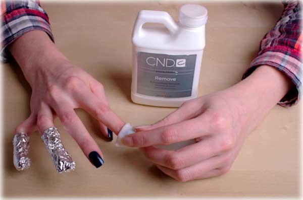 снять гель с ногтей сахаром стирать его ухаживать