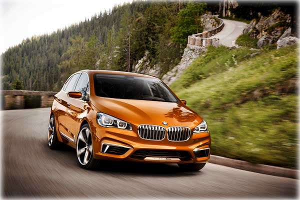 BMW представила концепт Active Tourer Outdoor